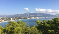 Stunning views to Altea. There are handily placed miradors (viewpoints) where you can get spectacular vistas acrossx the bay