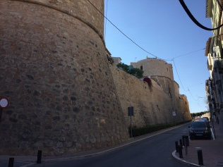 The old town was heavily fortified to protect against pirate attack