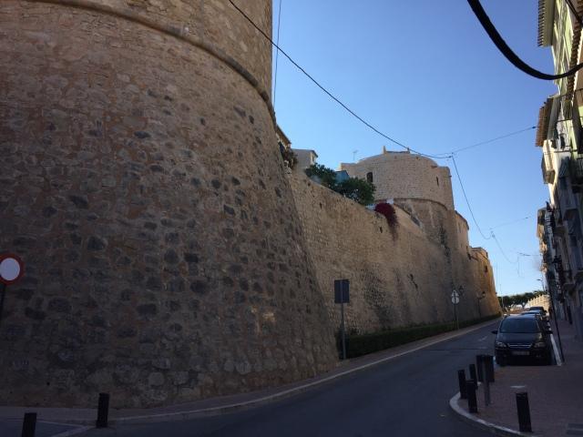 Villajoyosa old town