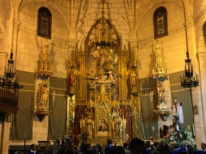 Easter celebrations at the church of Nuestra Señora de la Asunción