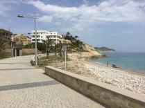 Follow the coast road past Playa Estudiantes and Tio Roig to the cul de sac.