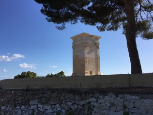 Torre de Sant Josep. A few metres behind the beach, this restored Roman tower is one of only three in the whole of Spain.