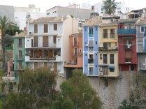 Casas colgadas overlooking the river valley