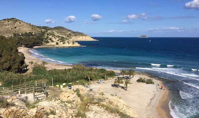 Playa de Torres top shot