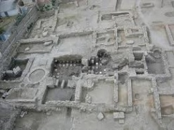 Roman baths in La Vila. The site on Calle Canalejas was excavated in 2008, but isn't open to the public. Pic via creative commons Vilamuseu