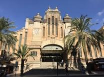 The elegant 1920s facade of the Mercado Central on Avda Alfonso Sabio