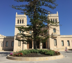 The MARQ archaeology museum in Alicante. Housed in a former hospital, it won European Museum of the year in 2004