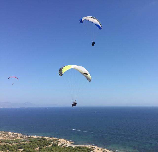 Paragliding Santa Pola
