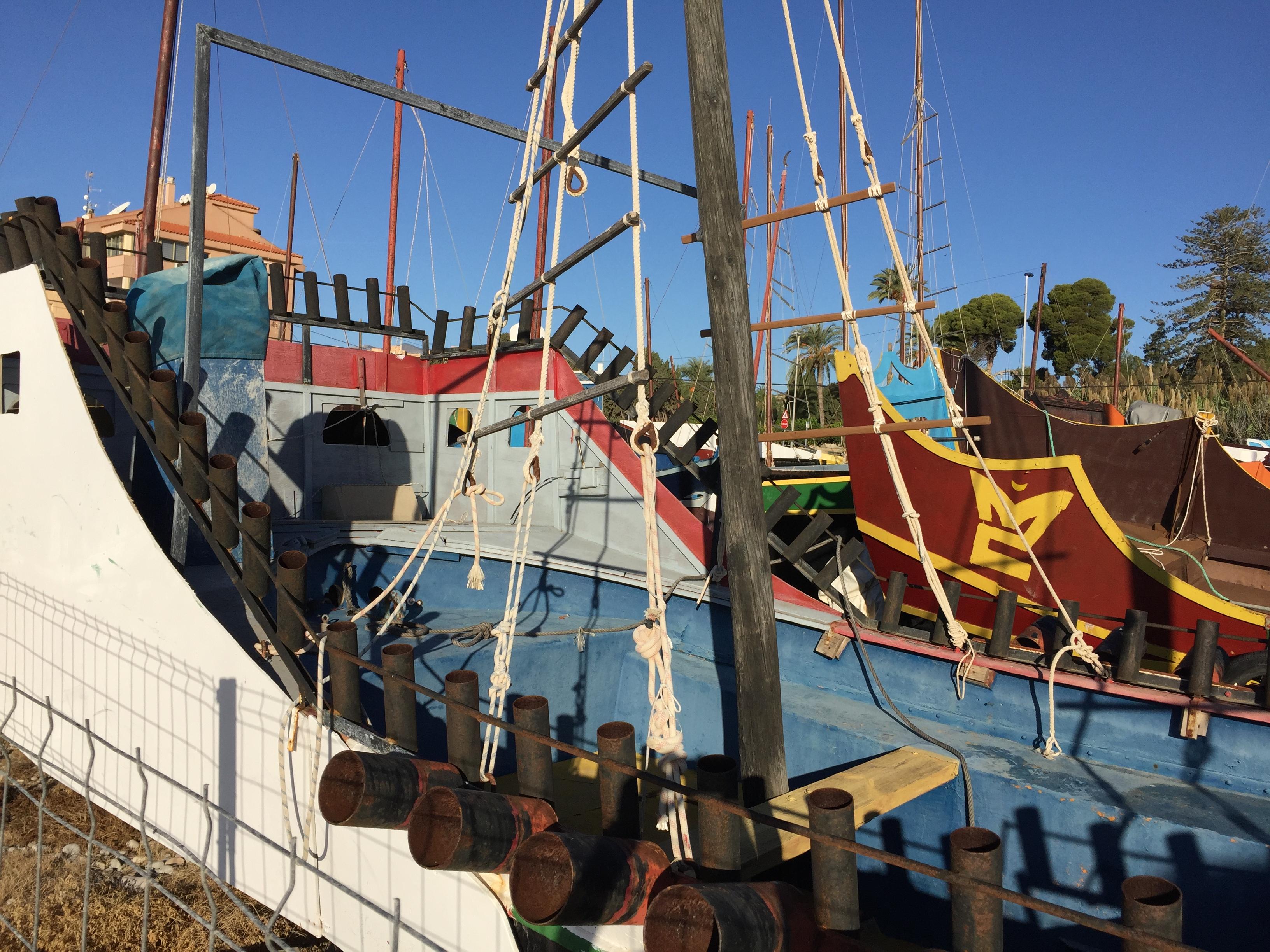 Boats Moros y Cristianos