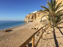 Playa Bol Nou; a nice sheltered shingle beach
