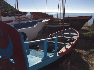 In July, the boats will be towed round to Villajoyosa harbour ready for the fiesta