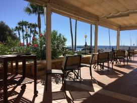 Restaurant terrace, Club Náutic Villajoyosa