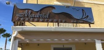 Madrid restaurant Villajoyosa