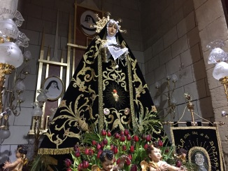 The Virgin from the church of Nuestra Señora