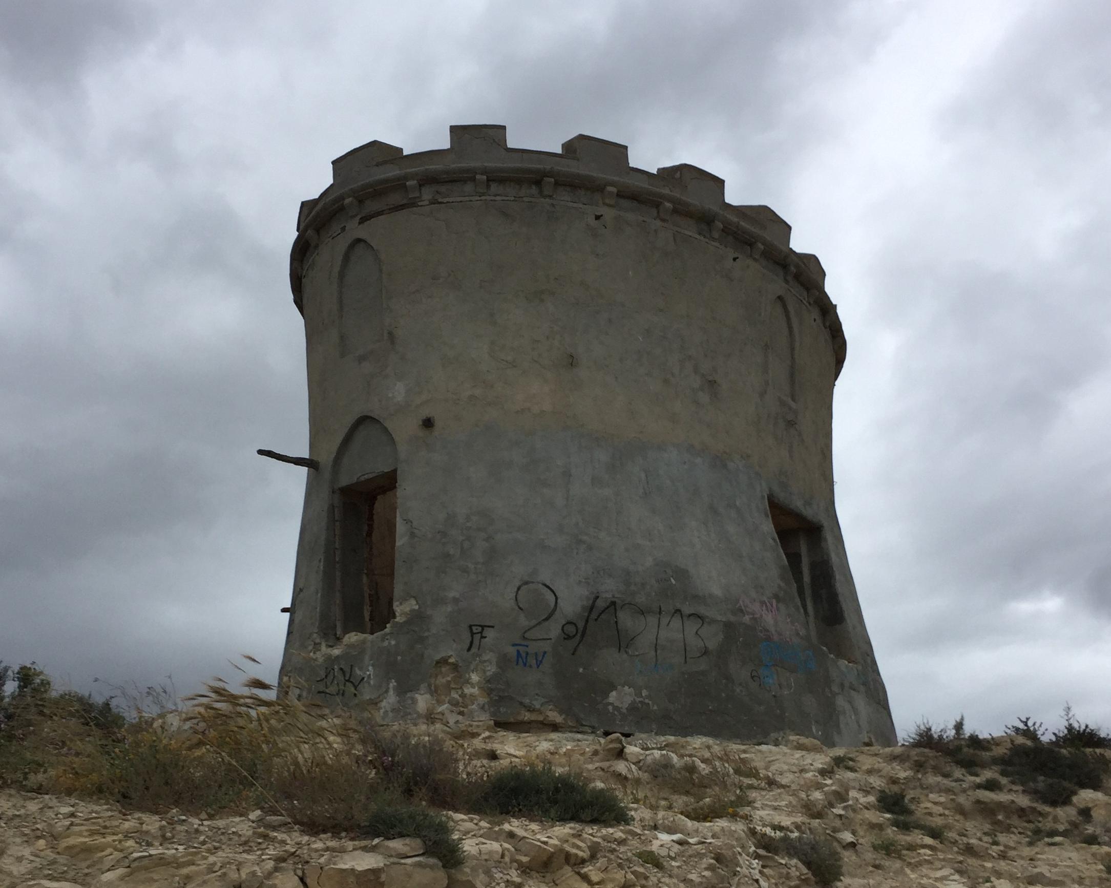 Ruined tower Malladeta