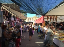 The Thursday mercadillo in La Vila