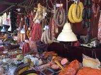 Embutidos (delicatessen) stall, La Vila mercadillo