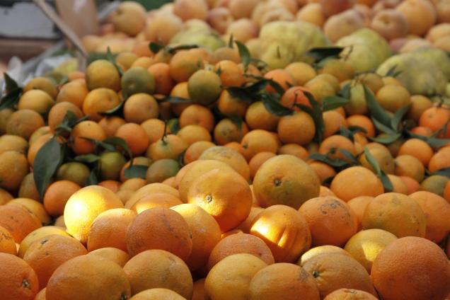 Sea of oranges, Mercadillo, Villajoyosa