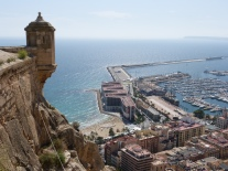 Stunning views across the port