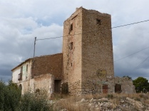Torre de Dalt, an 16th century watchtower, now sadly neglected