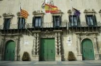 The historic town hall (adjuntament)