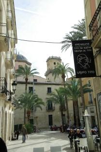 Plaza de la Santísima Faz in the old town