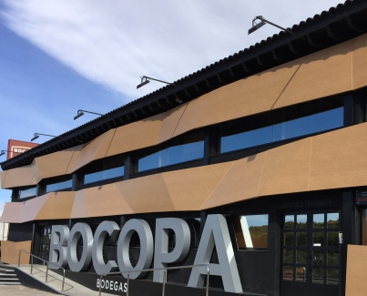 The Bocopa winery on the outskirts of Petrer