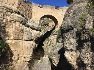Built in the 16th century, but superseded by the seriously spectacular Puente Nuevo