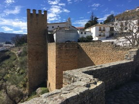 On the ramparts of the Moorish walls of Ronda