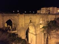 Puente Nuevo at night