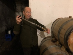 Felipe Gutierrez de la Vega makes some excellent Moscatel dessert wines, typical of the Marina Alta.