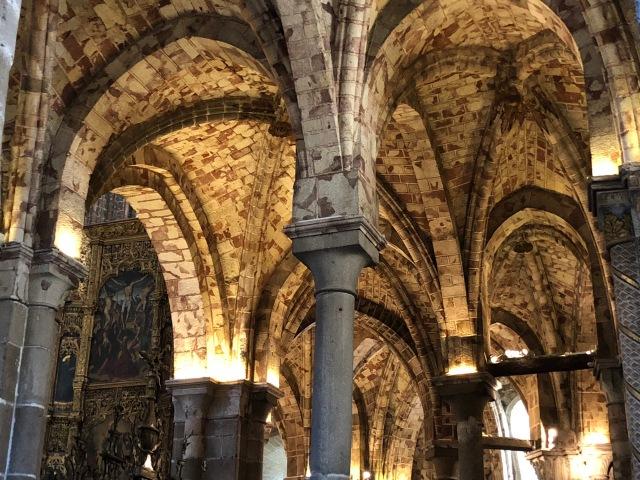 Vaulting, Ávila cathedral