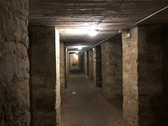Air raid shelter, Plaza de Séneca