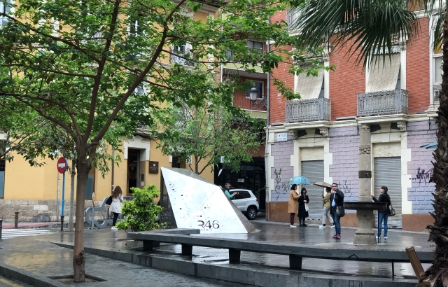 Plaza de Balmis shelter
