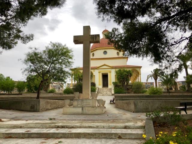 Alicante cemetery church